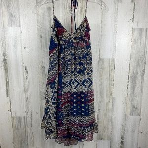 Mimi Chica Blue Multi Dress NWT Size M